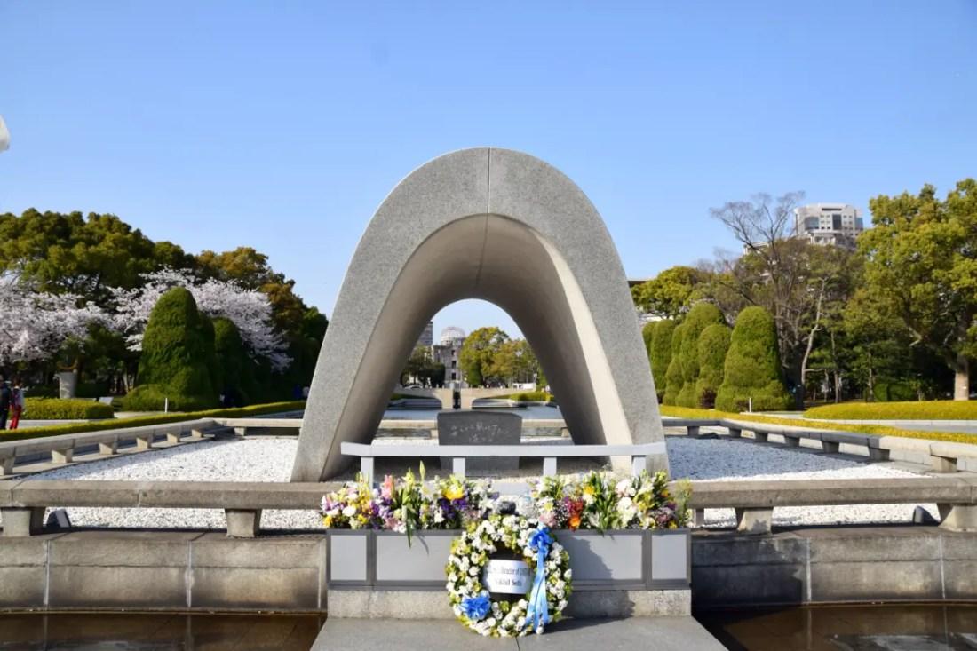 monumento a la paz de Hiroshima. Qué ver en Japón en 10 días