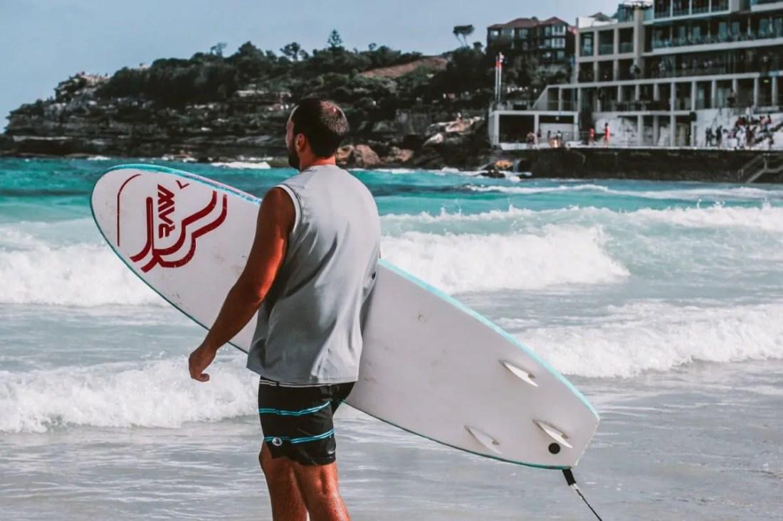 excursiones en sydney australia surf en Bondi Beach