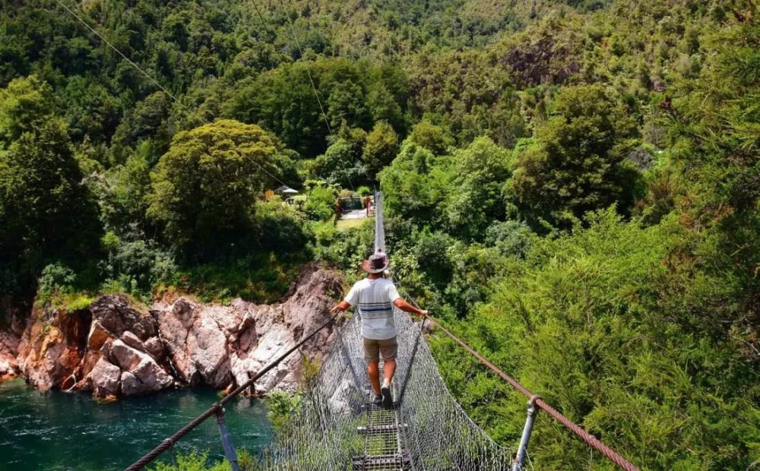 Buller Gorge Puente más largo NuevA Zelanda