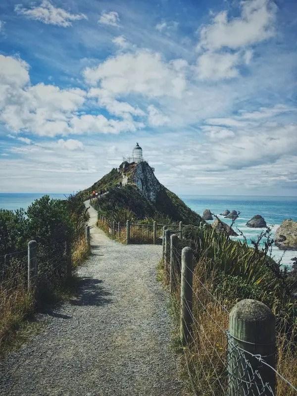 Faro de Nugget Nueva Zelanda