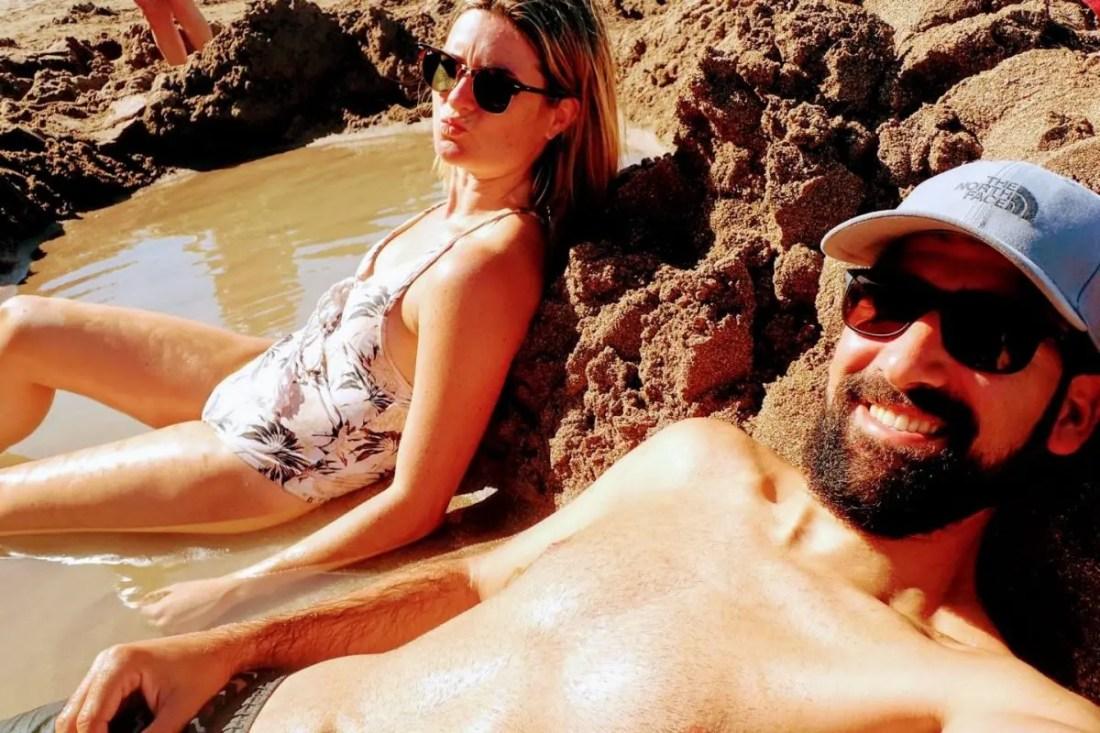 Hot Water Beach Playas Isla Norte Nueva Zelanda