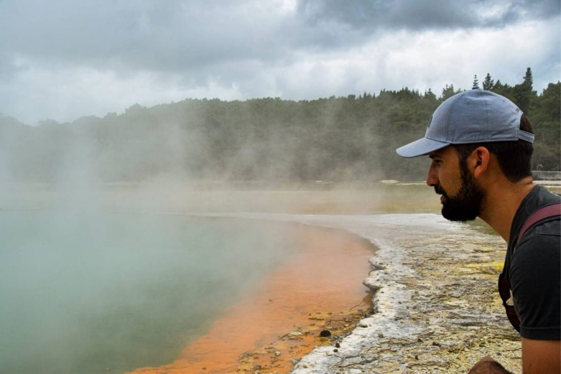 parque geotermal Wai o Tapu Nueva Zelanda