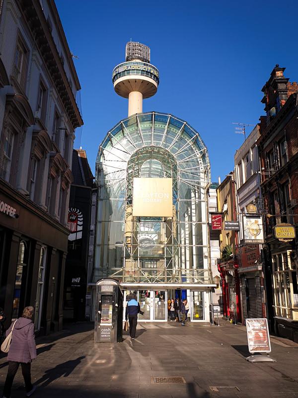 Clayton Square que visitar Liverpool