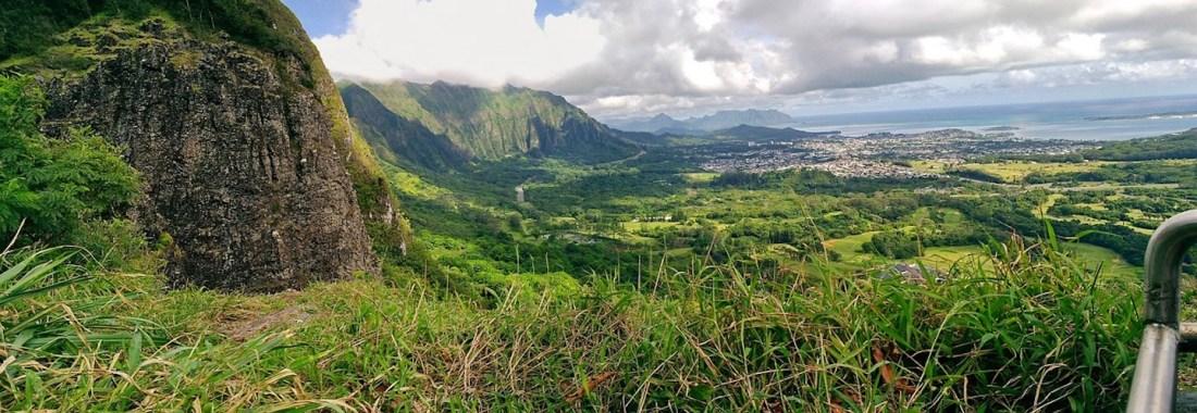 Nu´uanu Pali mirador Oahu Hawaii