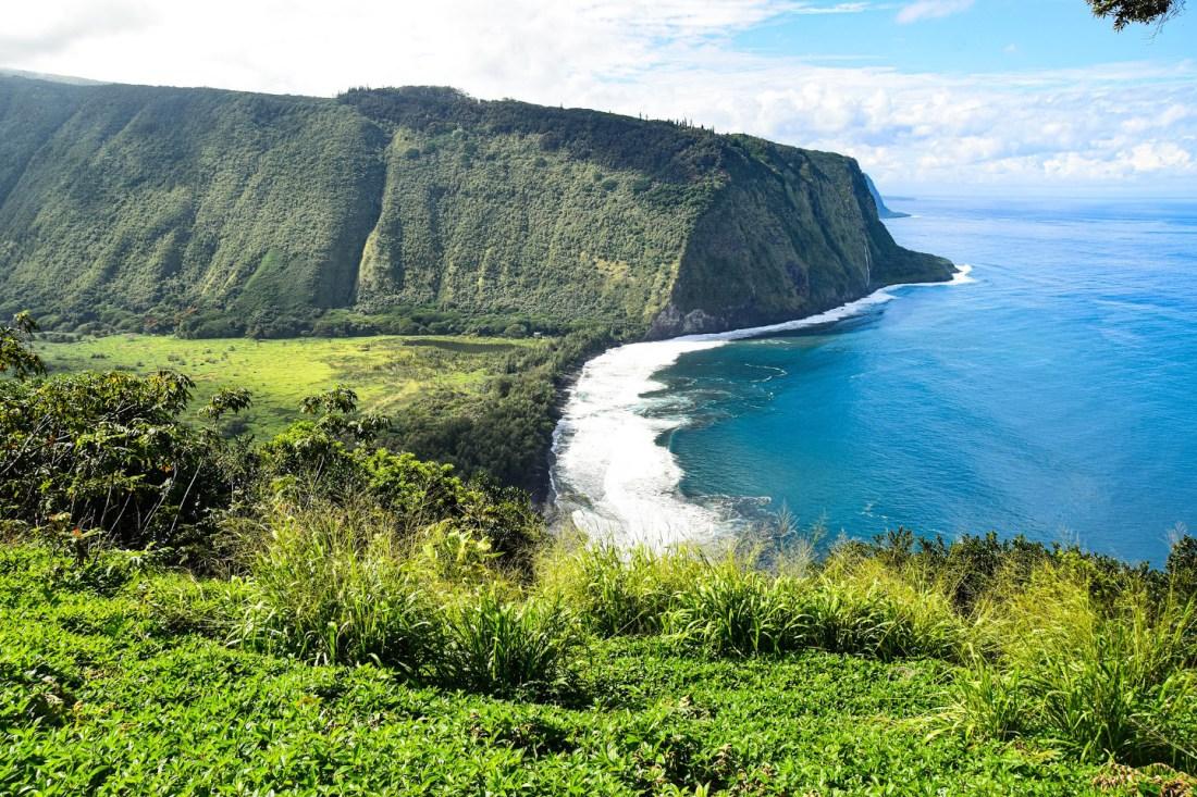 mirador de waipio Big Island Hawaii