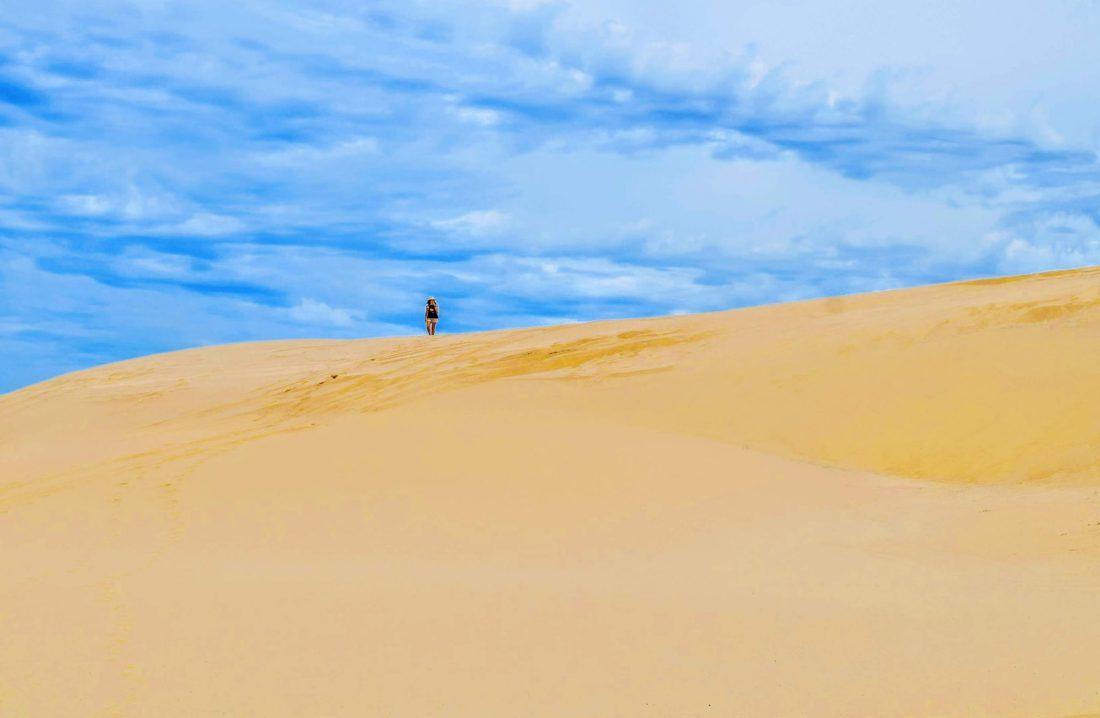 Stockton Beach and Dunes nsw Australia