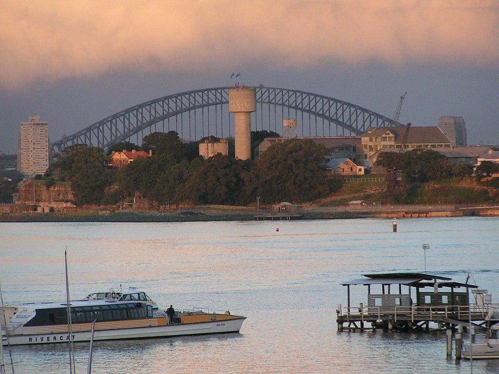 Isla de Cockatoo Sydney
