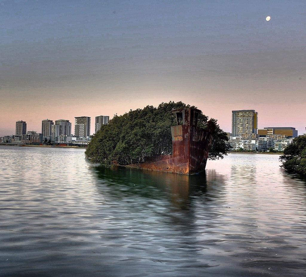SS Ayrfield Shipwreck Australia