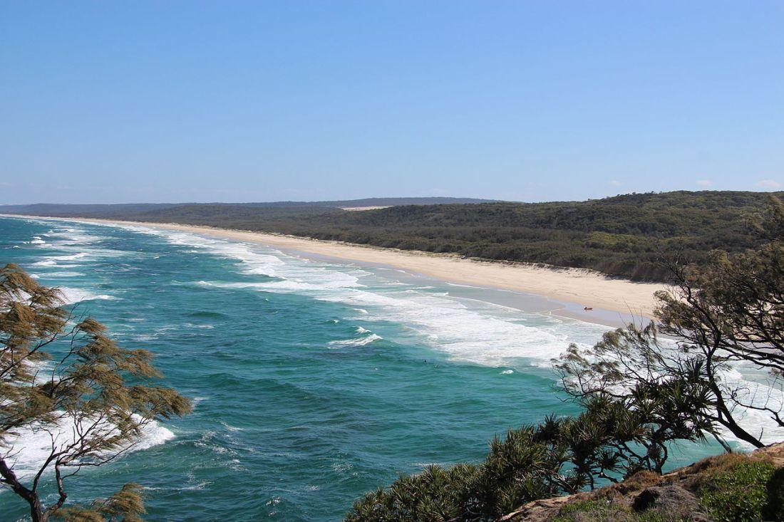 Isla de North Stradbroke Brisbane lugares desconocidos que visitar en Australia