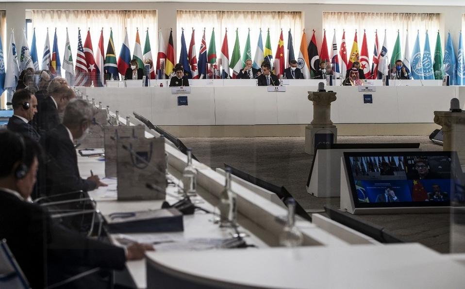 Cancilleres del G20: