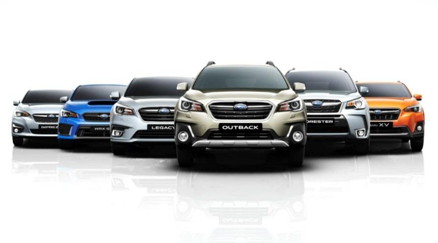 Subaru gama | Oportunidades en Argentina