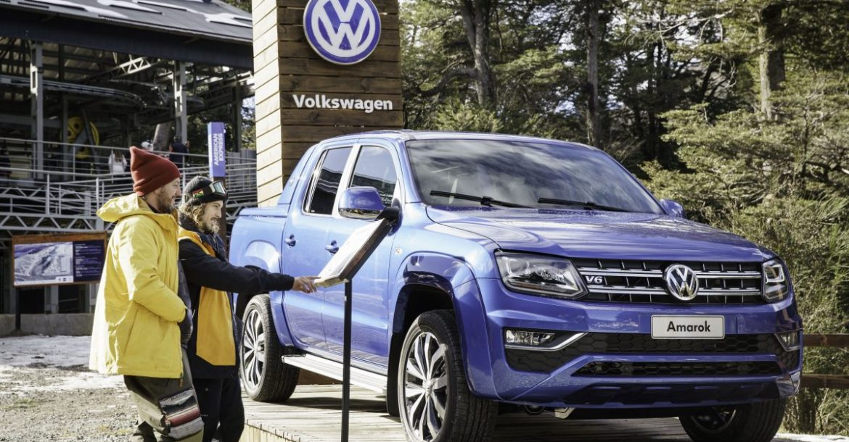 VW Amarok en Cerro Bayo