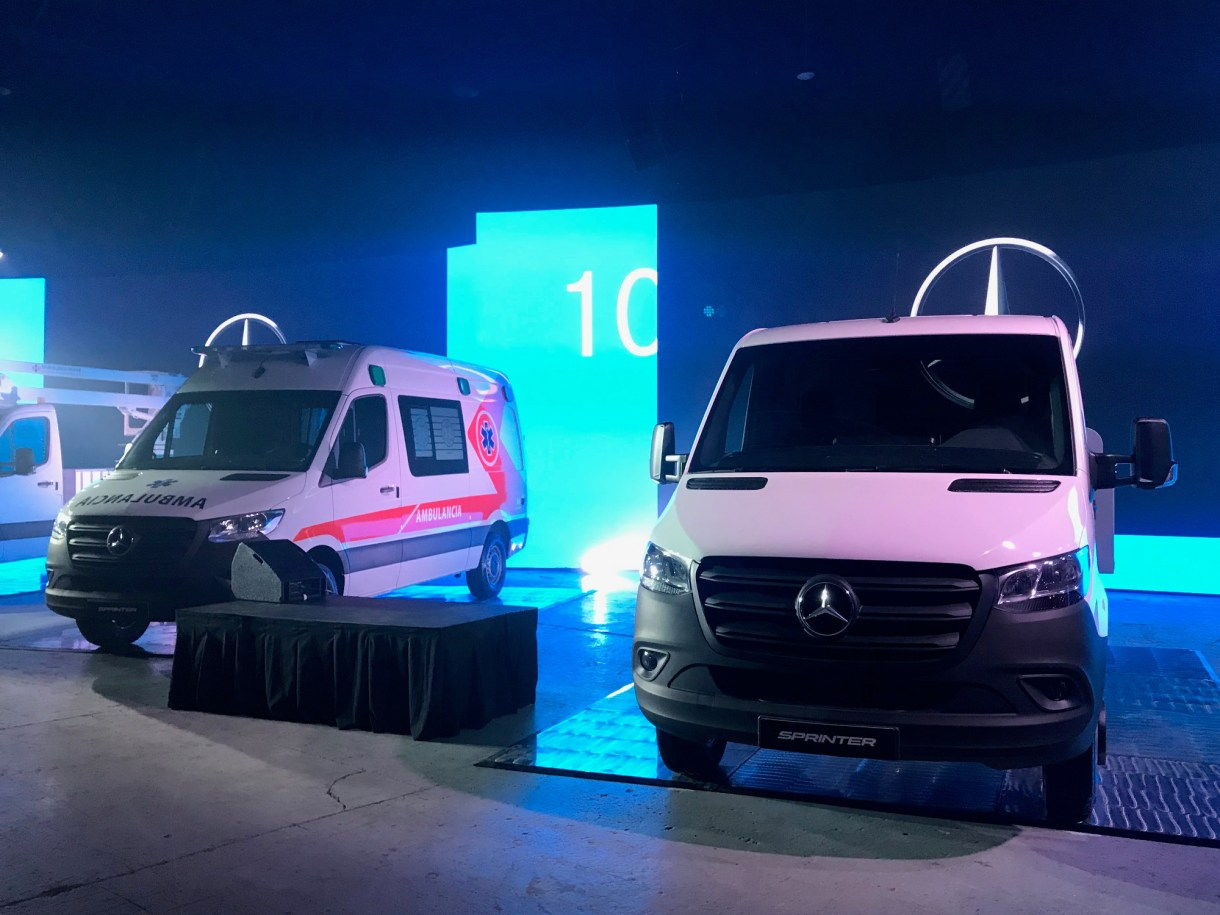Presentación Merecedes-Benz Sprinter III en Costa Salguero