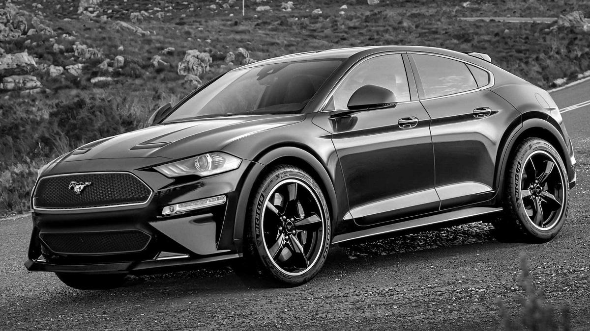 Ford SUV Mustang - Diseñador italiano Luca Serafini