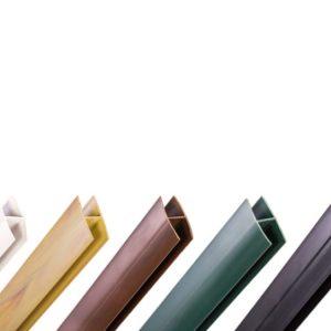PERFIL UNION PVC H 2.05 MARRON