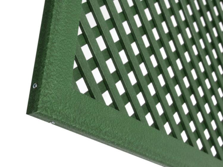 perfil lop marco 2 m verde - Tienda de Jardineria online