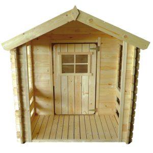 casita de madera peter