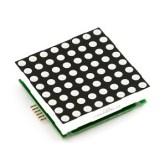 Resultado de imagen de tipos displays de leds Matriz de puntos (Dot matrix)