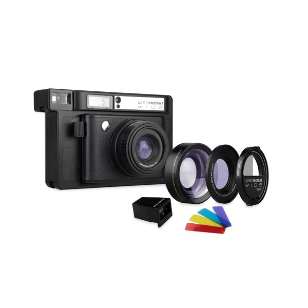Lomo Instant Wide Black & Lenses