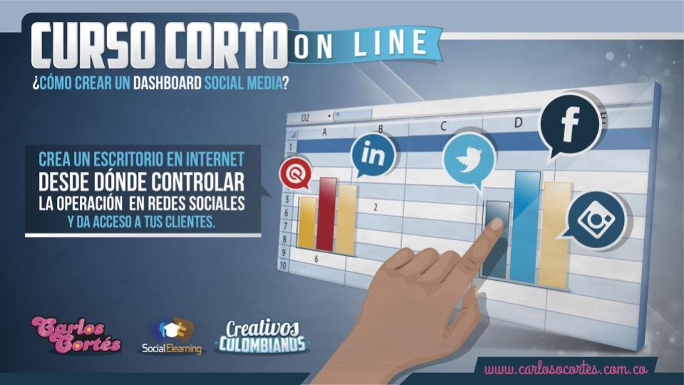 Curso Dashboard social media