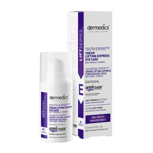 Crema para contorno de ojos Lifting Express de 15ml de la marca Dermedics