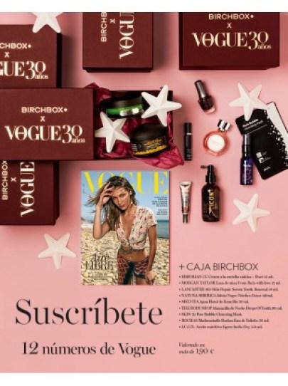 Lote Suscripción Birchbox Vogue Junio 2019