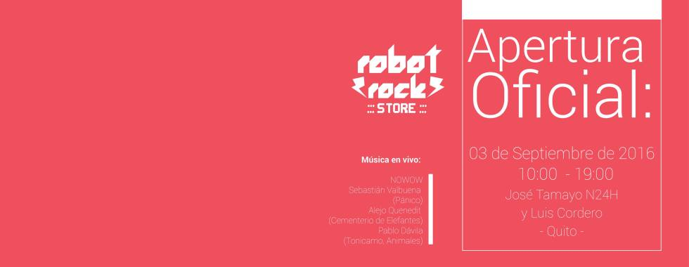 Robot Rock Store Quito