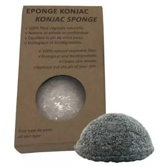 Esponja Konjac con carbón de bambú
