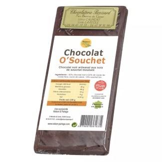 chocolate negro con chufa