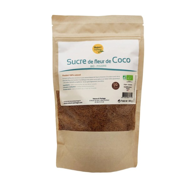 Sucre de coco 300g