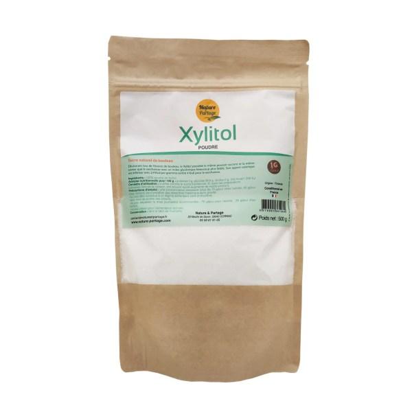 Xylitol sucre de boulot