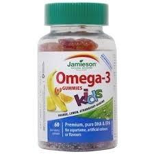 Omega-3 Kids 60 gominolas – Jamieson