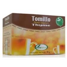Infusiones Tomillo 20 bolsitas , Soria Natural