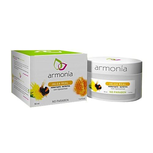 Crema facial Jalea Real con Liposomas 50g – Armonía