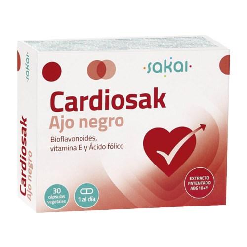 Cardiosak Ajo Negro 30 caps – Sakai