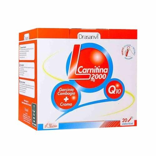 L-Carnitina 2000 mg 20 viales – Dransanvi