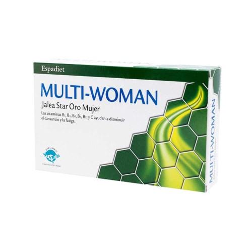 Multi-Woman Jalea Real Star Oro 20 viales – Espadiet