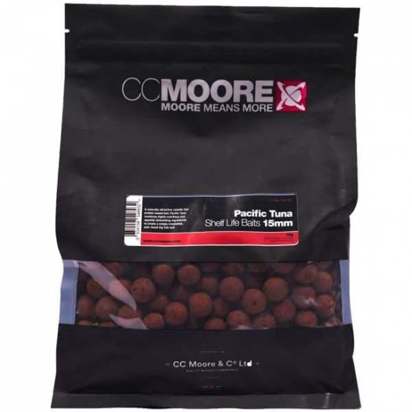 Boilies pacific tuna 15 ccmoore - Session Pack Pacific Tuna 15 mm