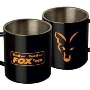 taza acero fox - Taza Fox de acero