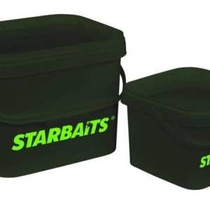 1978 P 01 - Cubo Starbaits STB Square Bucket 3,5 L