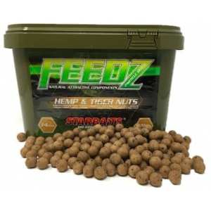 Cubo feedz hemp tiger - Cubo 4kg Feedz Hemp Tiger Starbaits