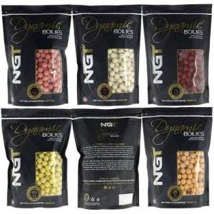 Boilies NGT Dynamic - Boilies NGT Dynamic Premium Krill