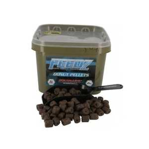 feedz donut pellets starbaits - Cubo de pellets Feedz Donut Starbaits 2 KG 15mm