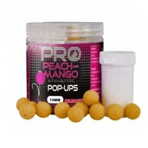 Pop ups peach mango starbaits 14 mm - Pop ups Peach Mango Starbaits 14 mm
