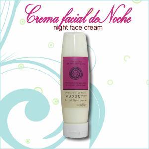 Crema facial de noche