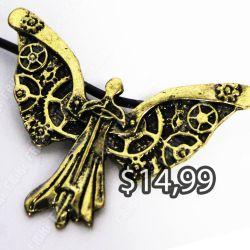 Collar Libros Cazadores de Sombras Ecuador Comprar Venden, Bonita Apariencia dorado, practica, Hermoso material bronce Color dorado Estado nuevo
