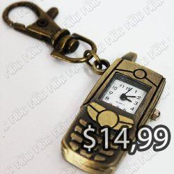Reloj de collar Varios Celular dorado Ecuador Comprar Venden, Bonita Apariencia ideal para los fans, practica, Hermoso material de bronce niquelado Color como en la imagen Estado nuevo