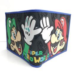billetera Super Mario Bros. Videojuegos accesorio luigi Mario bros Gamer tienda friki