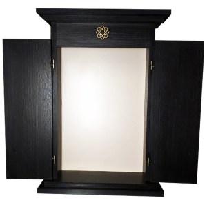 Butsudan mueble para altar budista negro