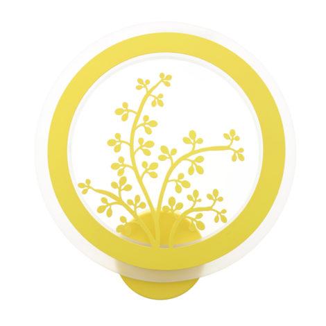Aplique-de-Pared-Infantil-Yellow-Plant-32W2